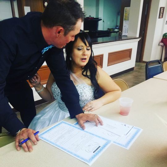 Marriage license review