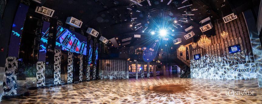 Epic Ballroom lighting