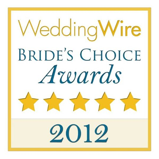 2012 Brides's Choice Winner