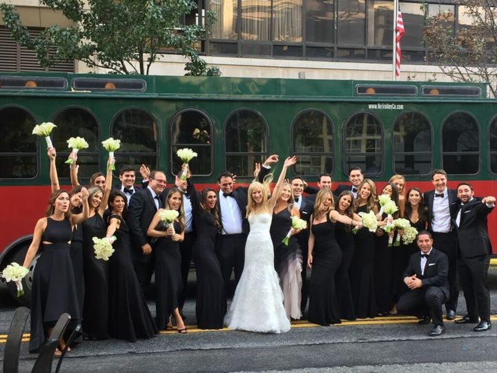 Tmx 1519234330 F6d93c31578e0ac0 1519234329 2e32448ba3cbe7f6 1519234330389 5 IMG 5682 Brooklyn, NY wedding transportation