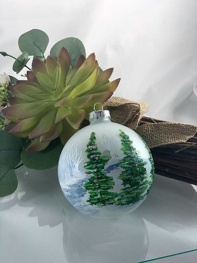Ornaments as gifts!