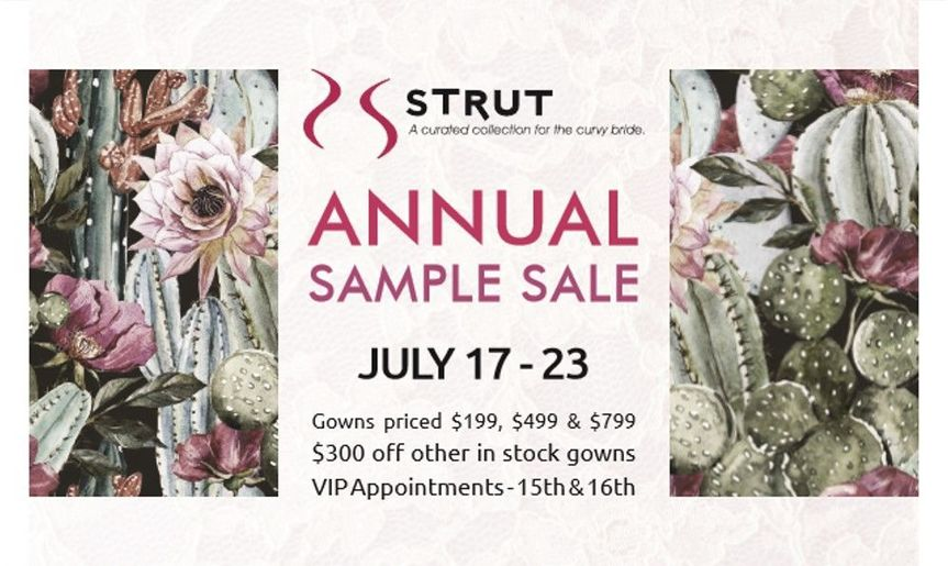 Strut--Brides size 12+