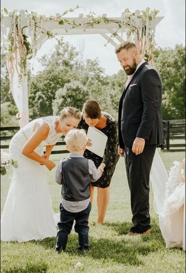 Talking to the ring bearer