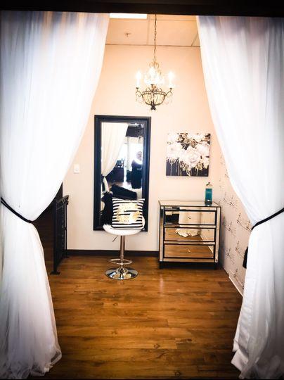 Our in Salon Bridal Suite