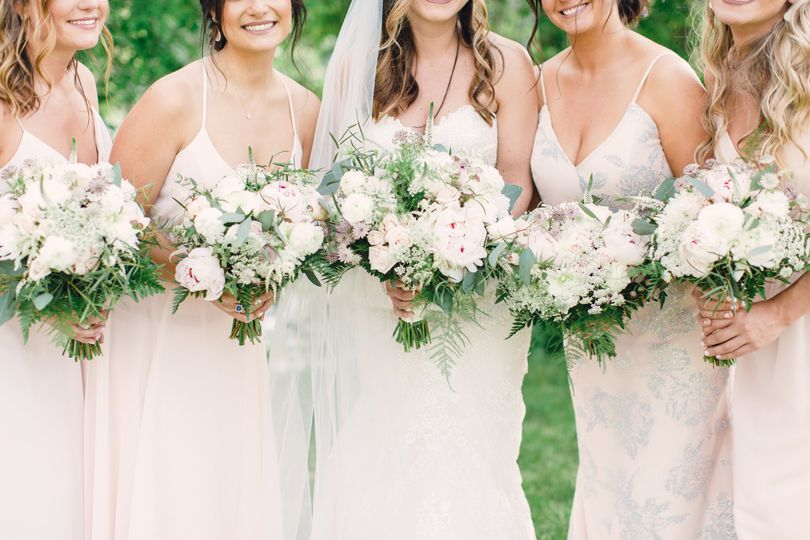 Pink dresses | Joanna Fisher Photography