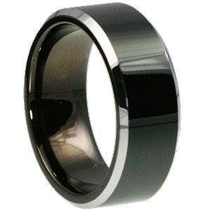 Kana Black Tungsten Ring
