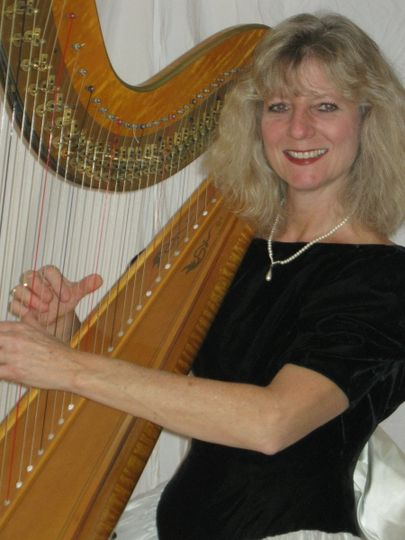 Harpist for all occasions available to add a speciial touch to your special day.