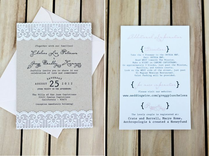 Tmx 1375927464380 1 Orange wedding invitation