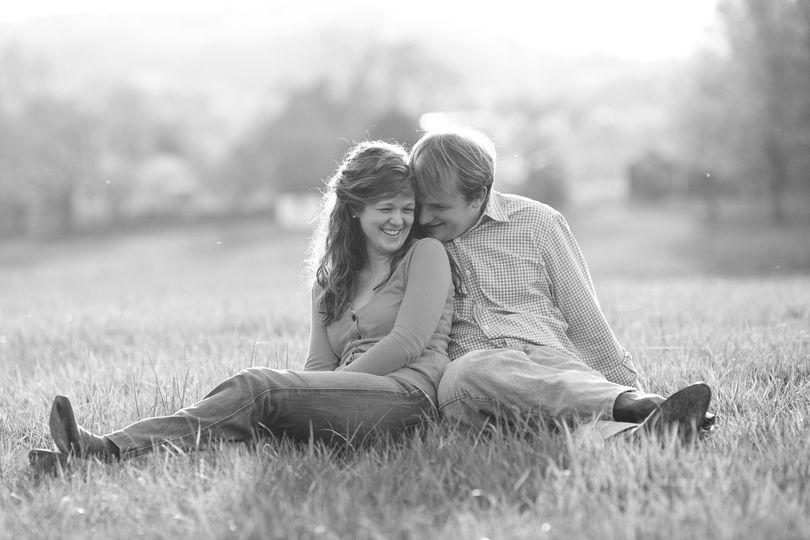Couple on the prairie