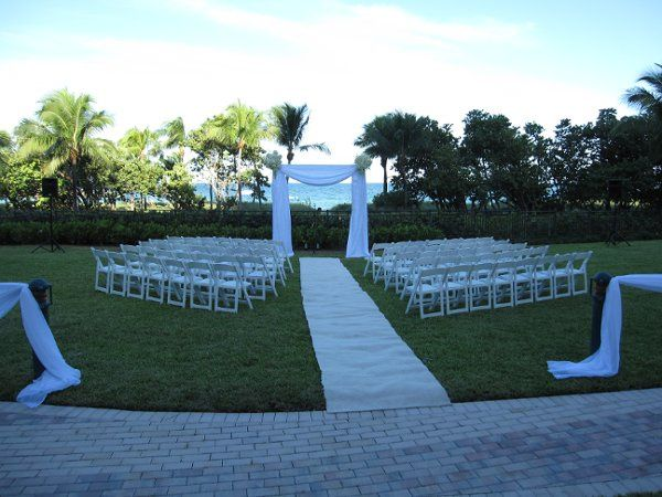 Outdoor Ceremony at One Bal Harbour
