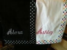 main image personalized shower wraps