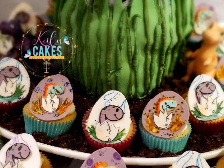 Tmx Dinosaur Cupcakes 51 1901037 158032526583591 Brooklyn, NY wedding cake