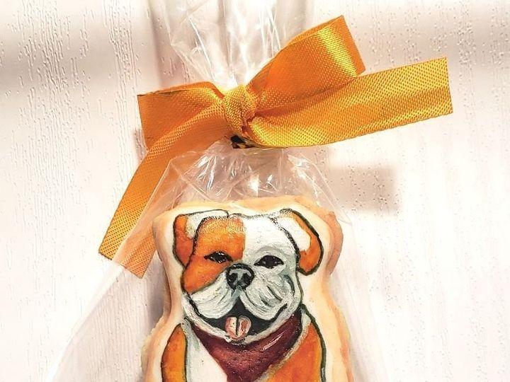 Tmx Doggy Sugar Cookie 51 1901037 158032507532510 Brooklyn, NY wedding cake