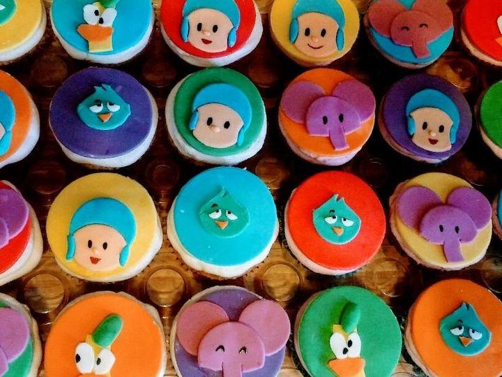 Tmx Pocoyo Birthday Cupcakes 51 1901037 158032526551814 Brooklyn, NY wedding cake