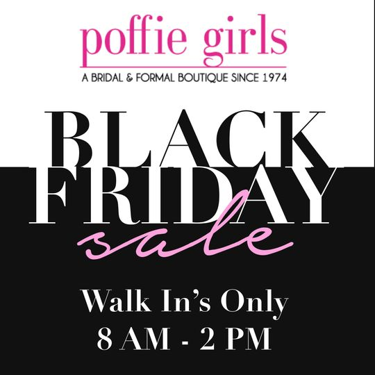 Black Friday Sale at Poffie!