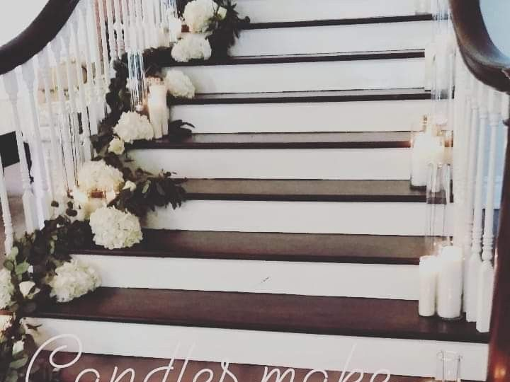 Tmx Candles On Staircase 51 63037 157556447197358 Tampa, FL wedding planner