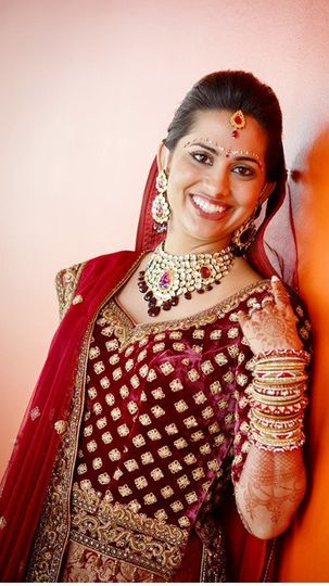 indian bride anuja