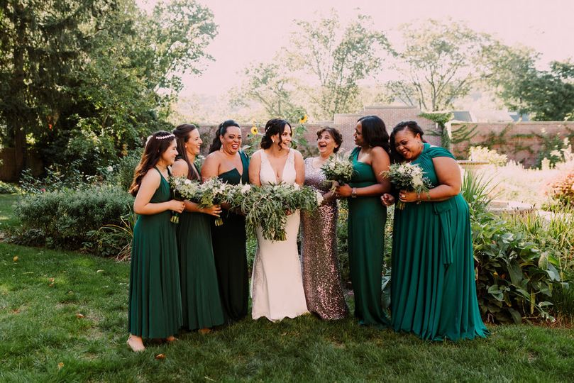 Jade Green Bridesmaids