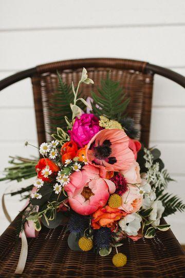 Seasonal springtime bouquet