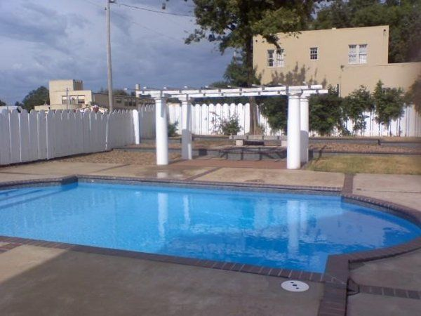 The pool and jacuzzi are only available to guests but the area is still great for outdoor...