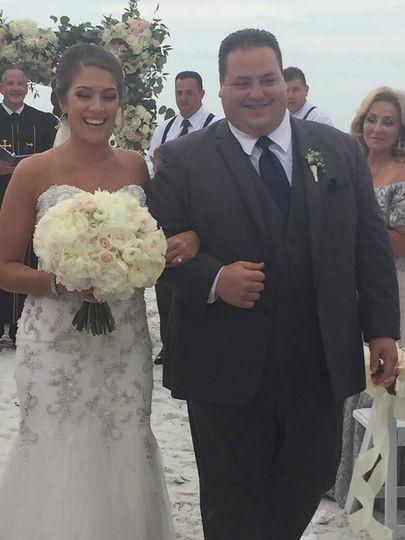 This wedding was a destination wedding I did in Florida