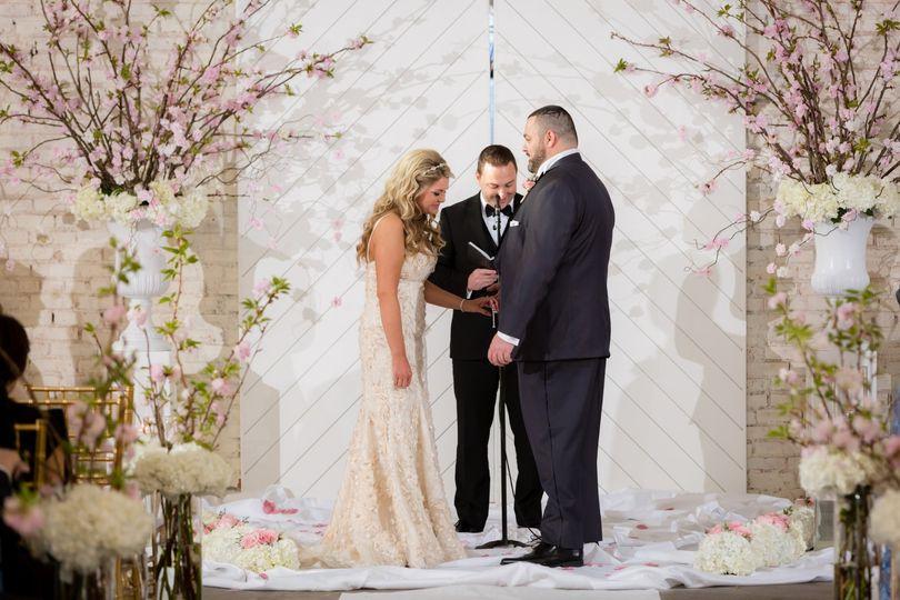 Elegant ceremony