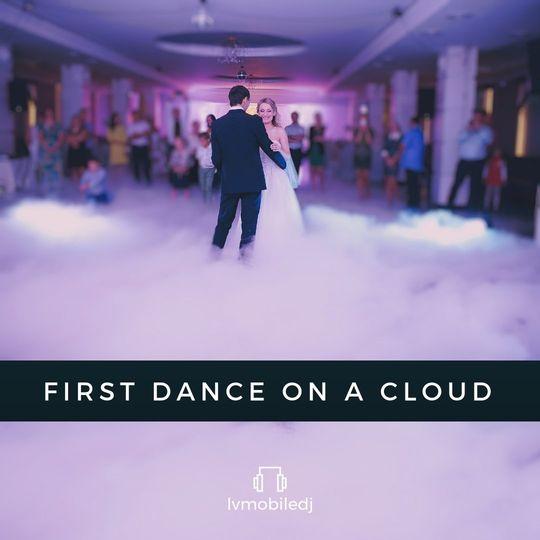 First dance on a cloud