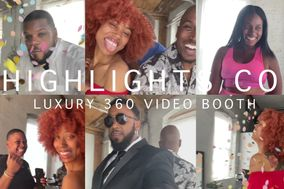 Highlights Co. 360 Video Booth