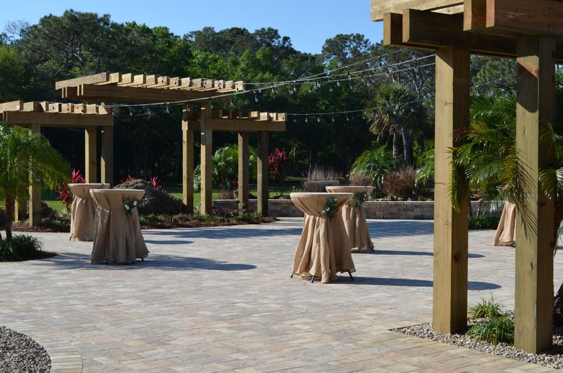 Patio and outdoor dance floor
