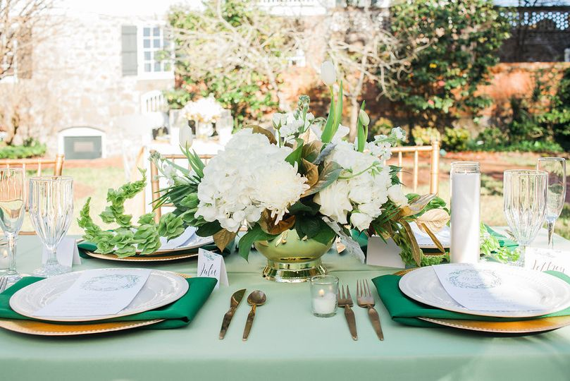 Guests who occupied these seats enjoyed a view of the orchard and the colonial era Burgwin-Wright...