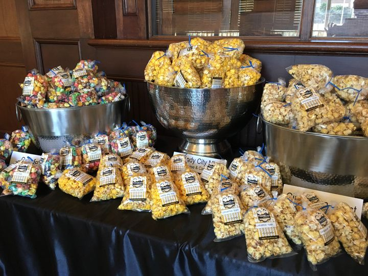 Popcorn Bar for many