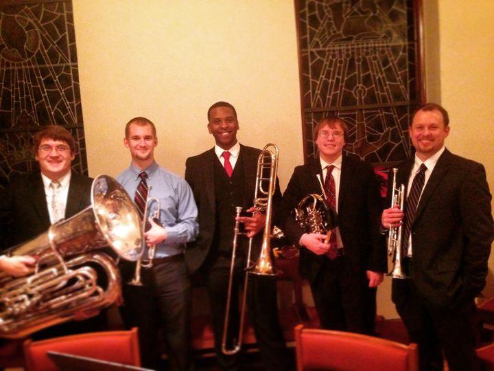 The Tuckaseegee Brass quintet