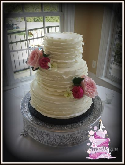 Party Delights Wedding Cake Wake Forest NC WeddingWire