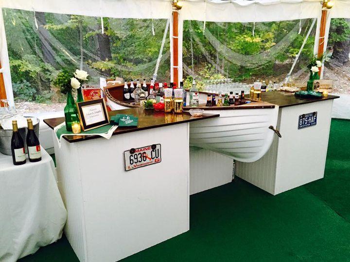 Famous boat bar