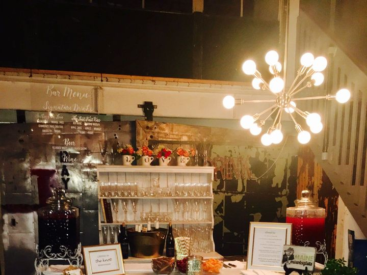 Tmx White Distressed Bar 51 1050137 New Gloucester, ME wedding catering