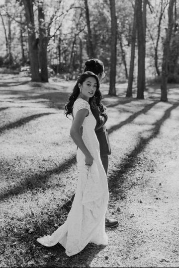 ellie pat new jersey fall historic village wedding