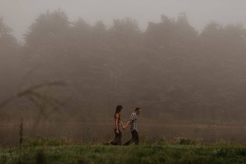 jessica derrick foggy moody morning engagement mea