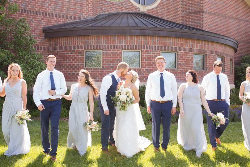 Wichita church wedding