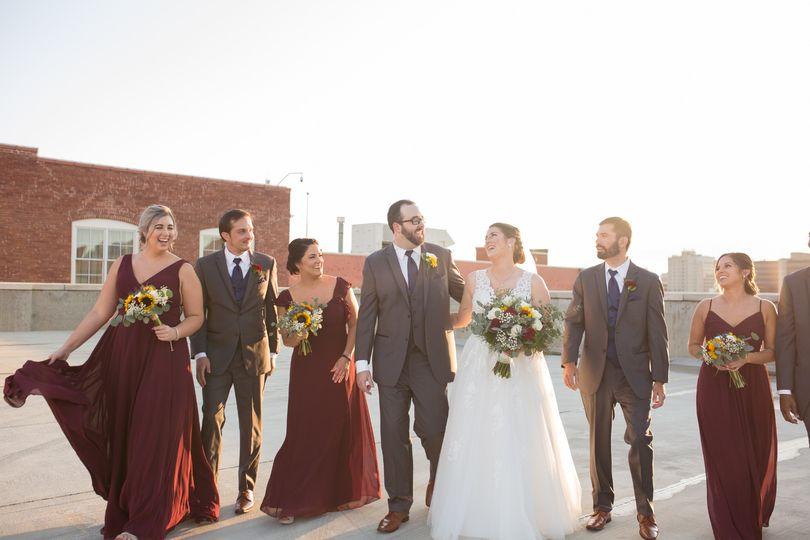 Downtown Wichita wedding