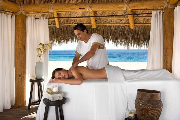 You must have a massage on your Honeymoon!
