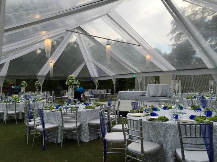 800x800 1450293060525 clear top tent fully draped & Jamaica Tent Rentals - Event Rentals - Montego Bay  Jamaica ...