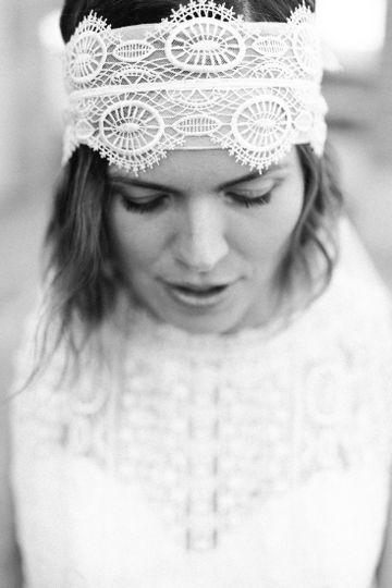 Bridal portrait image