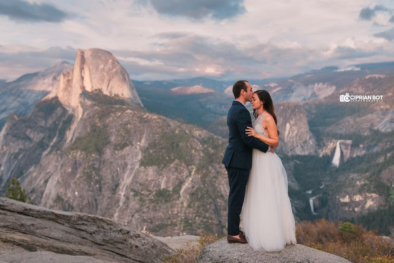 Yosemite After Wedding Picture