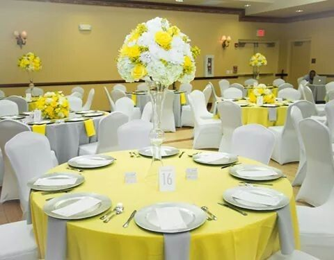 yellow and silver event