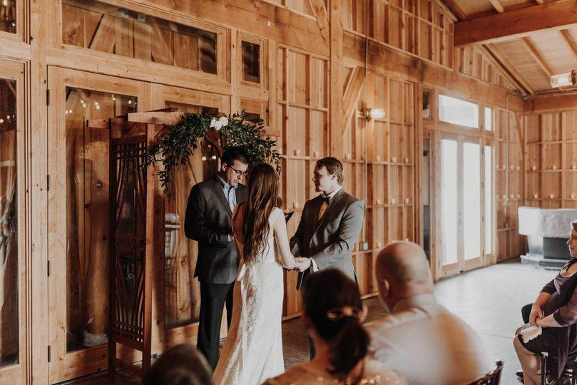 Mullan Barn Intimate Wedding