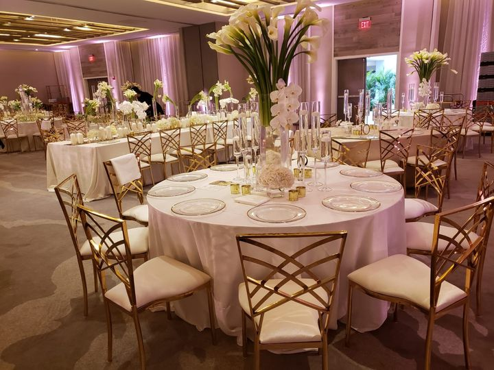Elle Gold Chairs