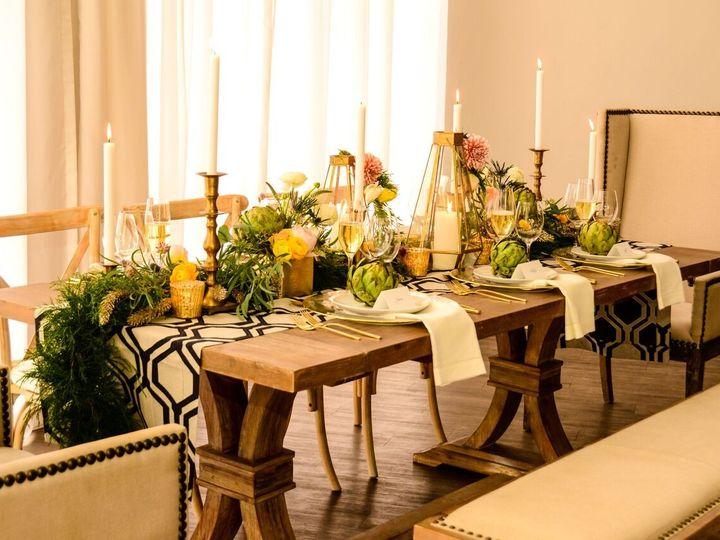 Tmx 1452797845734 Farm Table With Bench Miami, FL wedding rental