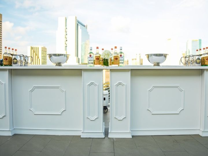 Tmx Bellini Double Bars Without Extension At The Penthouse Riverside 51 125137 159345966277438 Miami, FL wedding rental