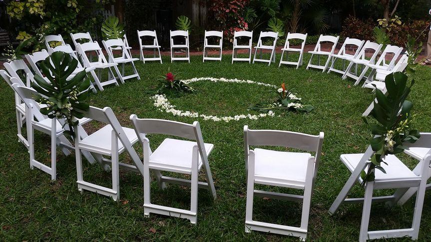 Spiral seating arrangement