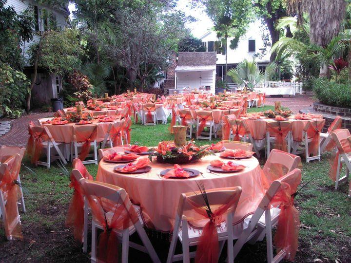 Formal dinner setup